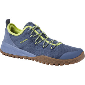 Columbia Fairbanks Low - Chaussures Homme - jaune/bleu